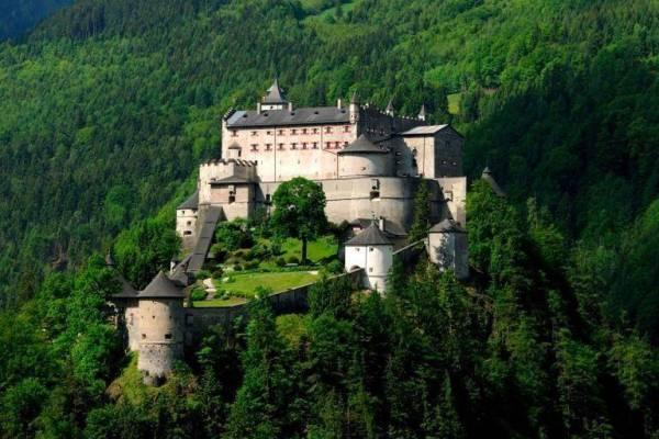 Hohenwerfen Fortress Sightseeing Salzburg