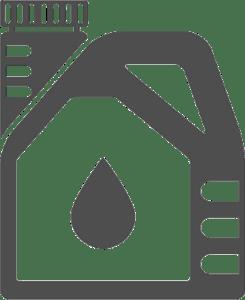 Butelka z olej silnikowy