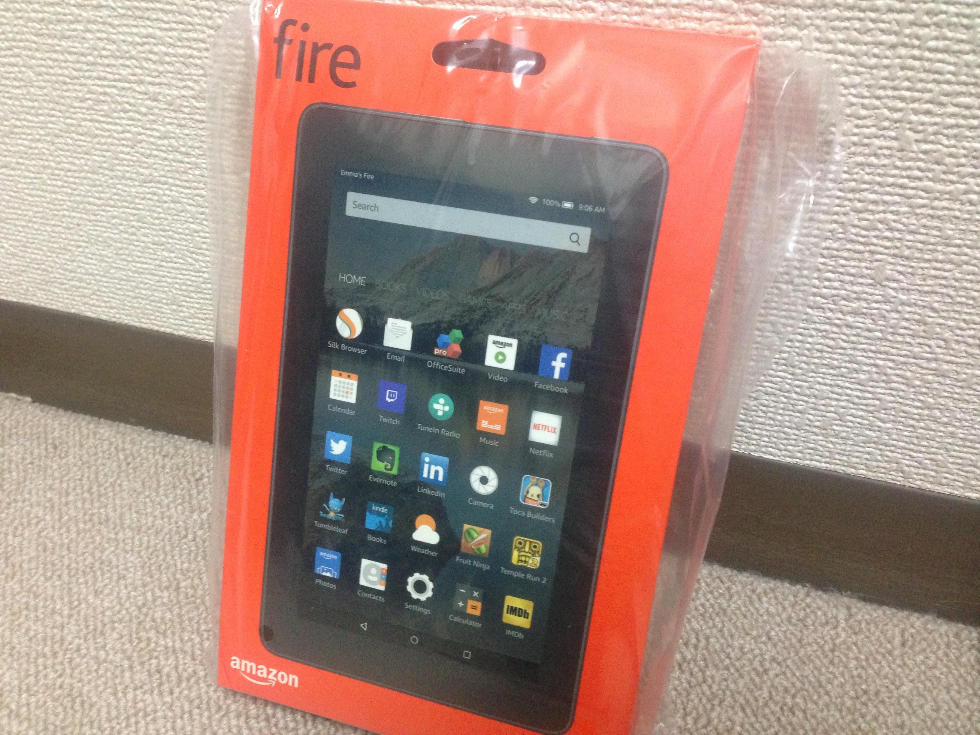 安い7インチならFireタブレット!ネクサス7(2012)より快適