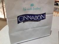 CINNABON(シナボン)が美味しい!甘いけど子供も大好き