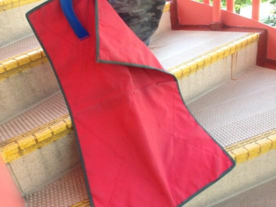 展望滑り台の布
