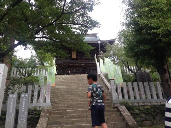 筑波山神社の階段