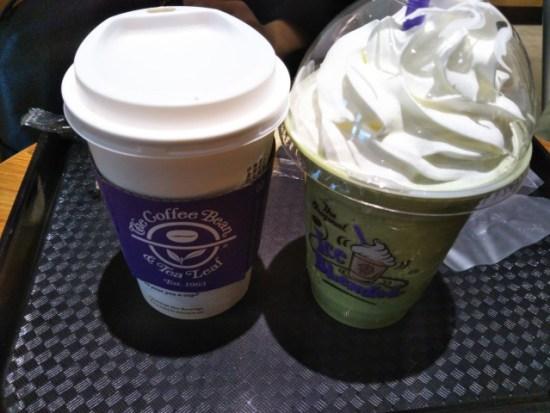 コーヒービーン&ティーリーフの抹茶