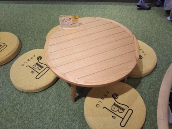 パブロカフェの席