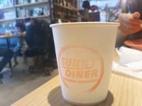 柏の葉T-SITEにあるSunny Dinerのハンバーガーが美味しい