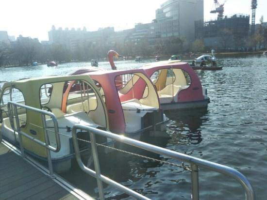 上野公園ボート