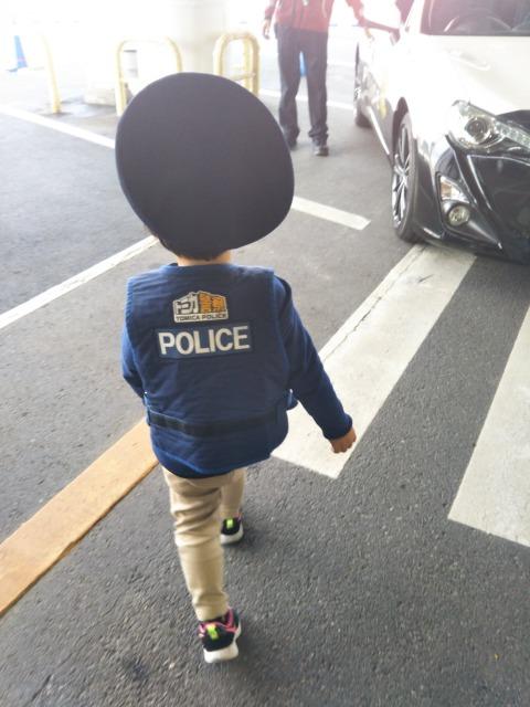 トミカなりきり警察