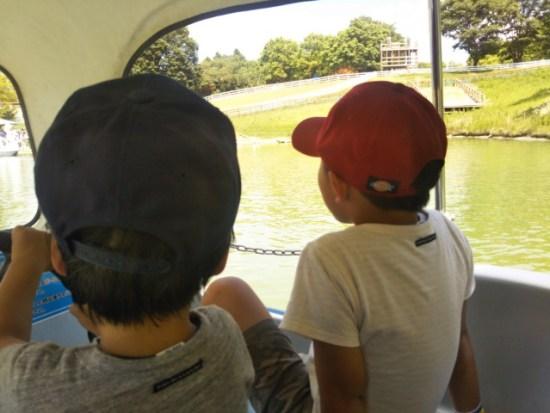 イバライドのスワンボート