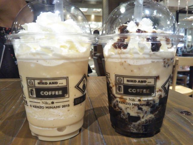 いつもコーヒーじゃつまらない。niko andのコーヒーゼリースムージーが甘すぎなくて美味しい