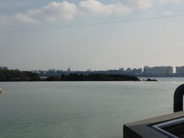 葛西臨海公園から見えるディズニー