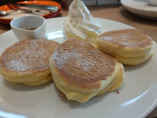 麹町珈琲のパンケーキ