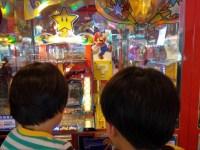 ゲームセンターにマリオのゲームがたくさんあってビックリ。ハマらない程度に行ってみたい