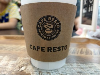 ヤマダ電機内にできたCAFE RESTOに行ってみた。買い物ついでに休憩できる場所があると助かる