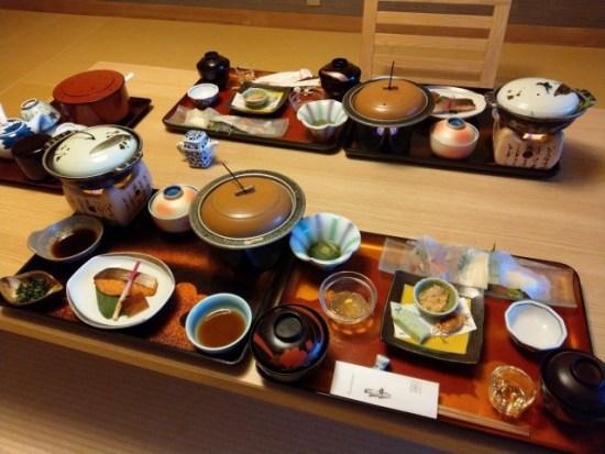 鬼怒川温泉の食事の画像