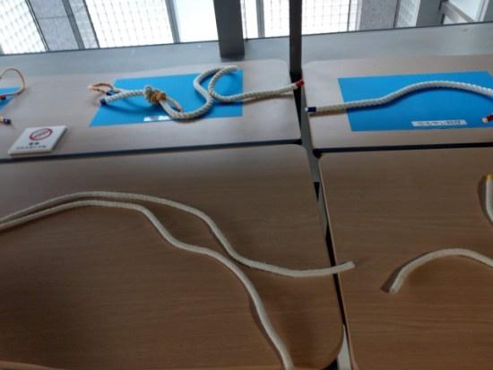 三菱みなとみらい技術館ロープ