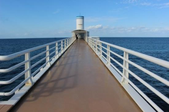 ブセナ海中公園の展望台