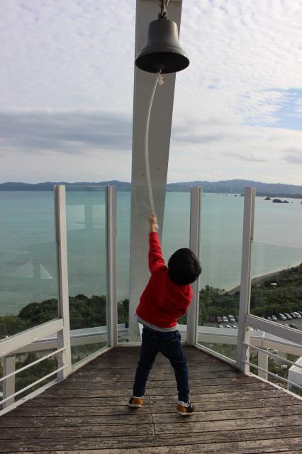 古宇利島オーシャンタワーの鐘