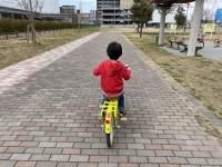自転車大好きな子供たち。本当に嬉しそうに乗っているのを見るのが楽しい