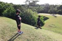 子供たちだけで遊んでいる姿をみて行けるうちに子供と一緒に公園で遊びたい