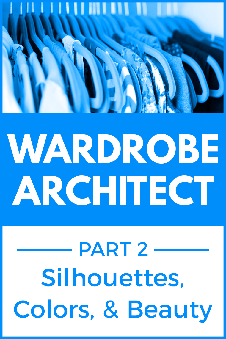Planning a wardrobe includes examining silhouettes, colors, and beauty. Wardrobe Architect asks participants to reflect on these elements of style. Keep reading for my perspective on clothes silhouettes I like, colors that work for me, and my favorite hair and makeup looks.