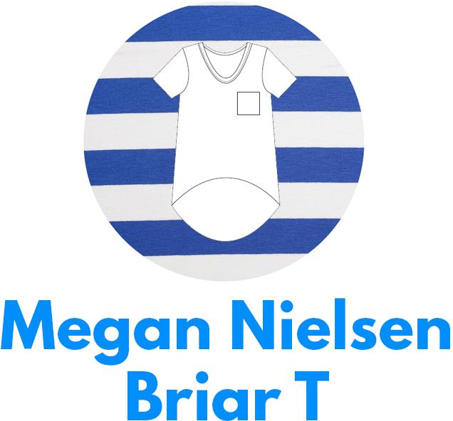Megan Nielsen's Briar T is one of my capsule wardrobe sewing patterns.