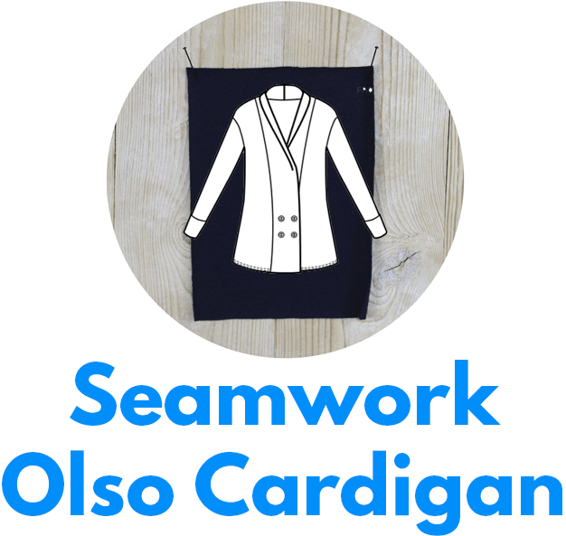 Seamwork's Olso cardigan is one of my capsule wardrobe sewing patterns.