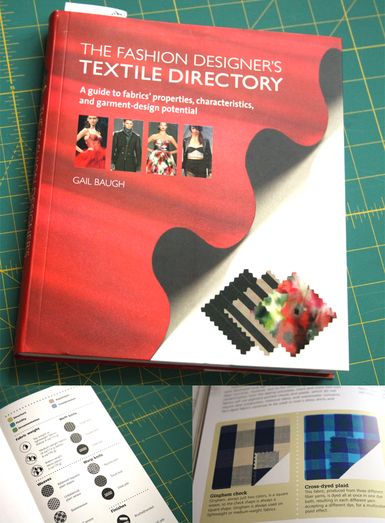 I own this book about fashion textiles, and it gives great insight on how to choose fabric.