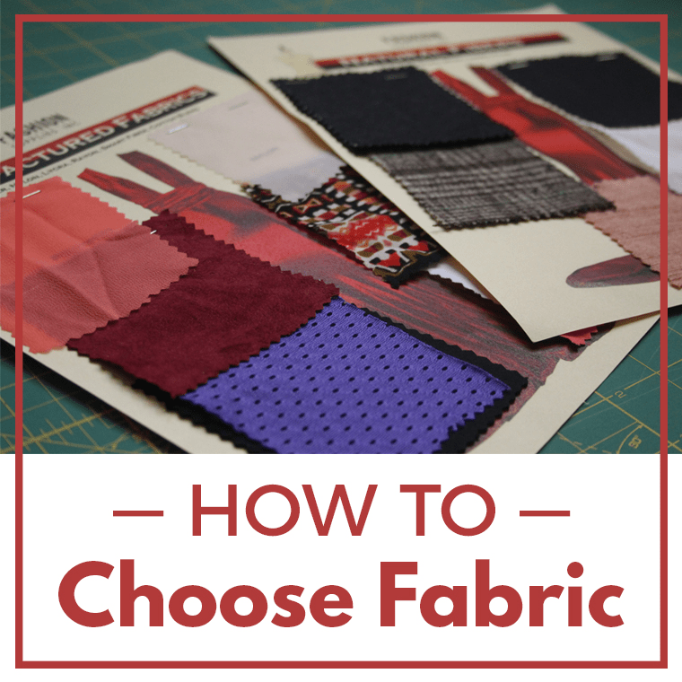 I took a fashion textile class to discover better strategies for how to choose fabric.