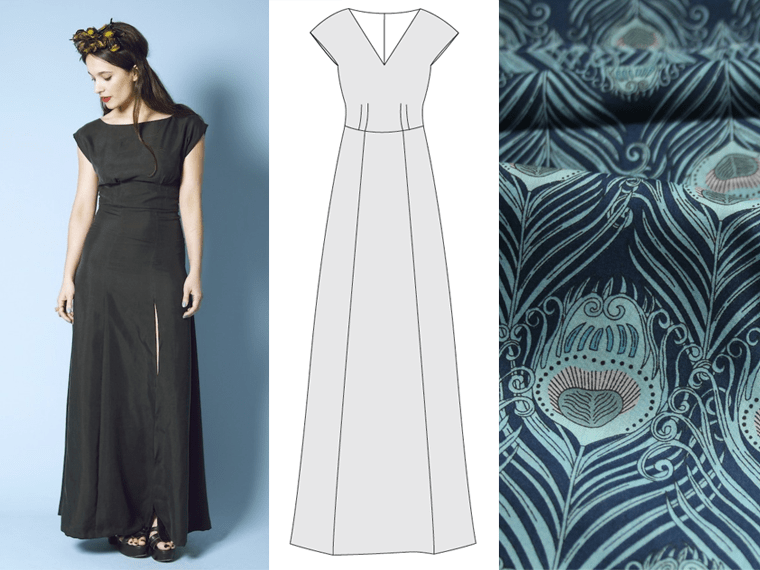 The Anna dress from By Hand London is the November garment for Project #SewMyStyle.