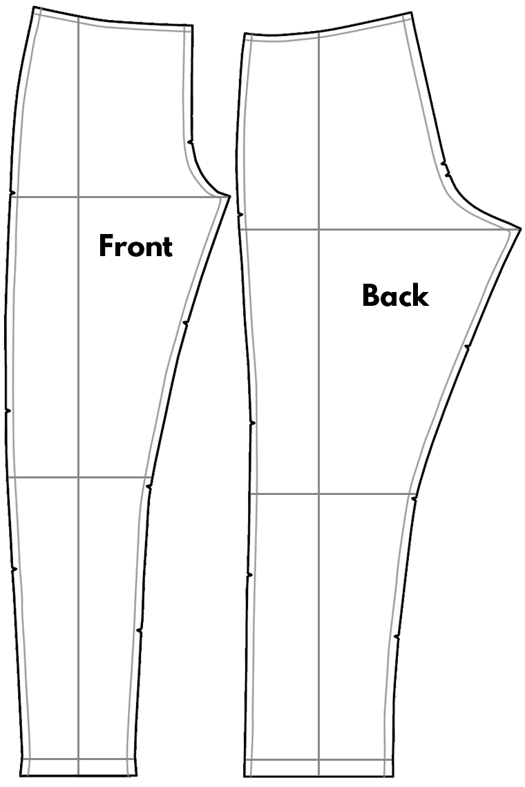 Sewing Pants, Part 2: Altering Pants Pattern Pieces | Sie Macht
