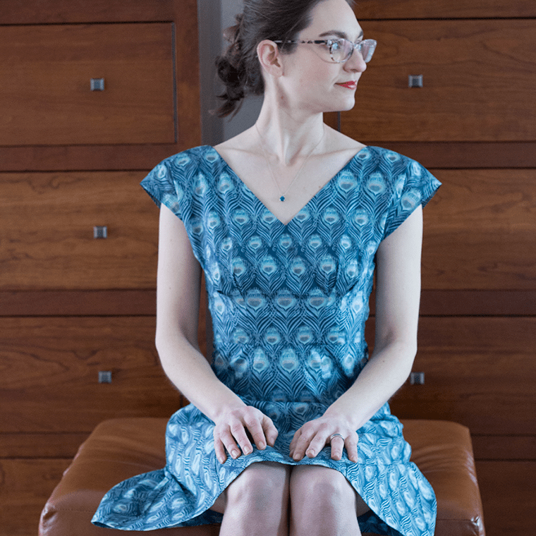 The By Hand London Anna dress pattern is a fetching summer frock.