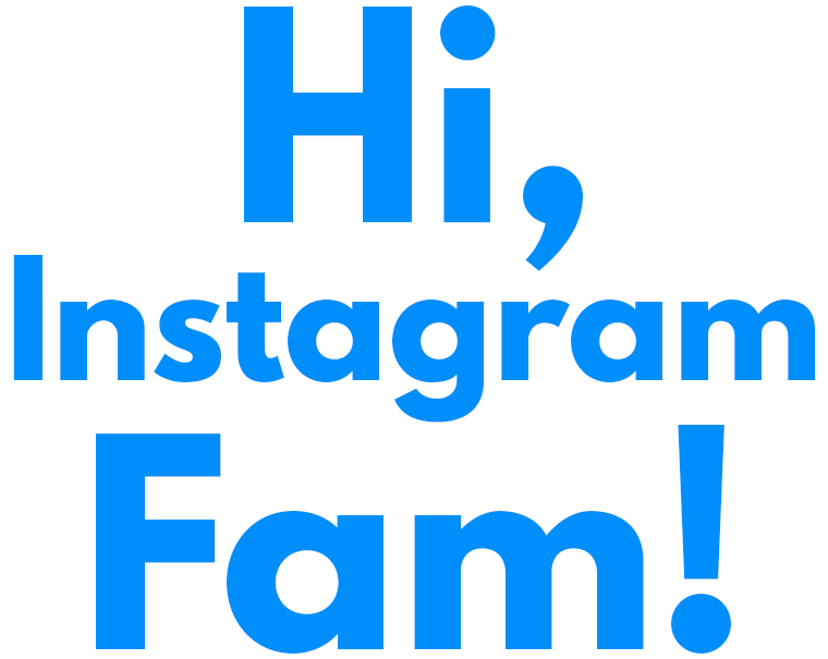 Here's a big welcome for Sie Macht's Instagram fam!