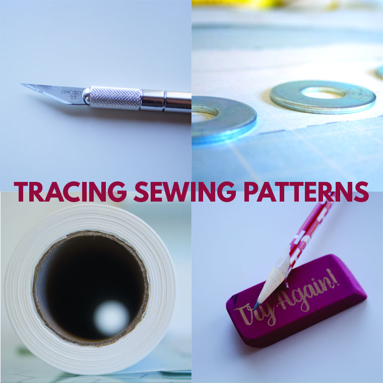 Tracing pattern pieces is my least-fave sewing task. But I've developed a process and ID'd tools for making this chore less of a bummer.