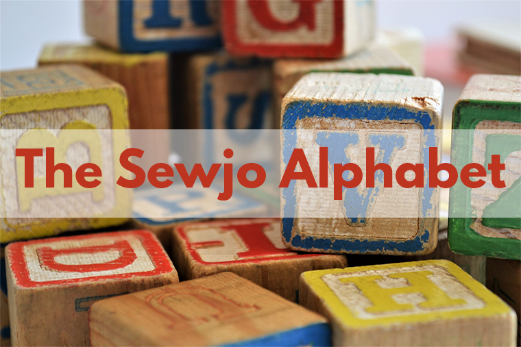 Try these 26 alphabetical suggestions for kick-starting your sewjo.