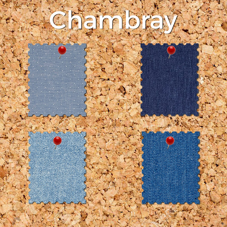 Chambray is a forgiving fabric to sew, and it's very on trend.