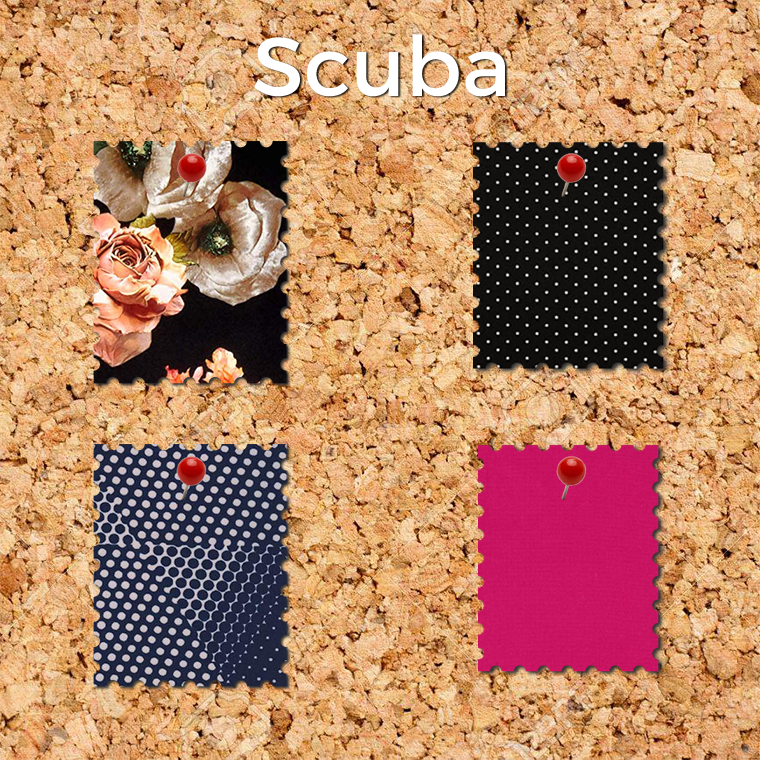 Scuba knit is an easy fabric to sew, especially if you're a beginner sewist.