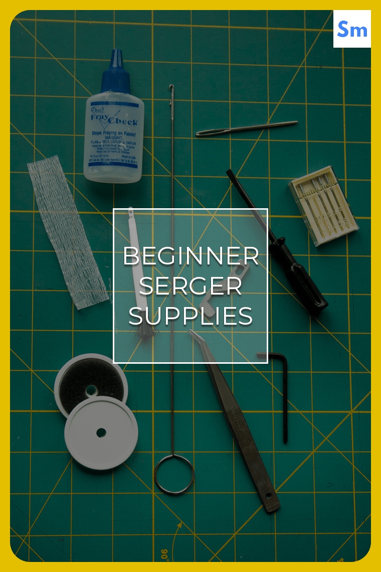 If you're looking for beginner serger supplies to help you tame your new serger (also called an overlocker in many parts of the world), you're in the right place!