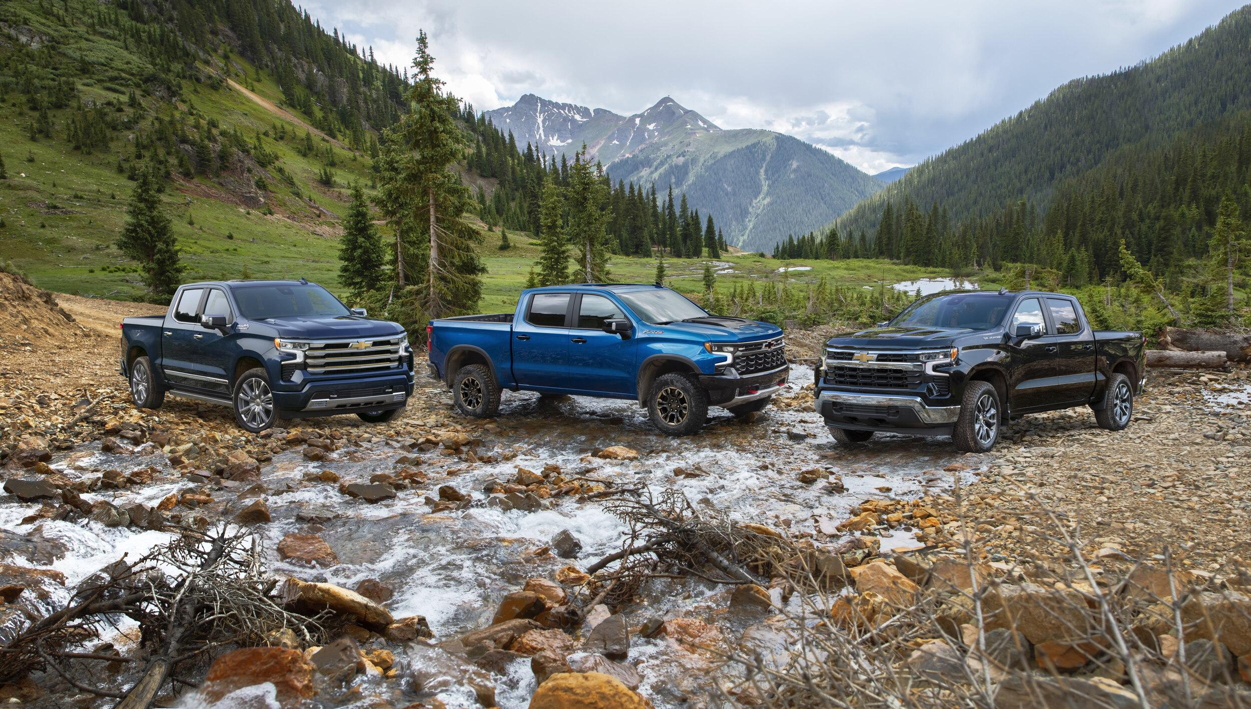 Chevrolet Silverado High Country, ZR2 y LT