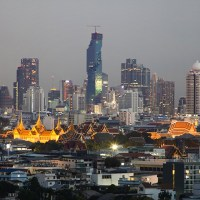 Maha Nakhon skyscraper by Ole Scheeren - Thailand's tallest building