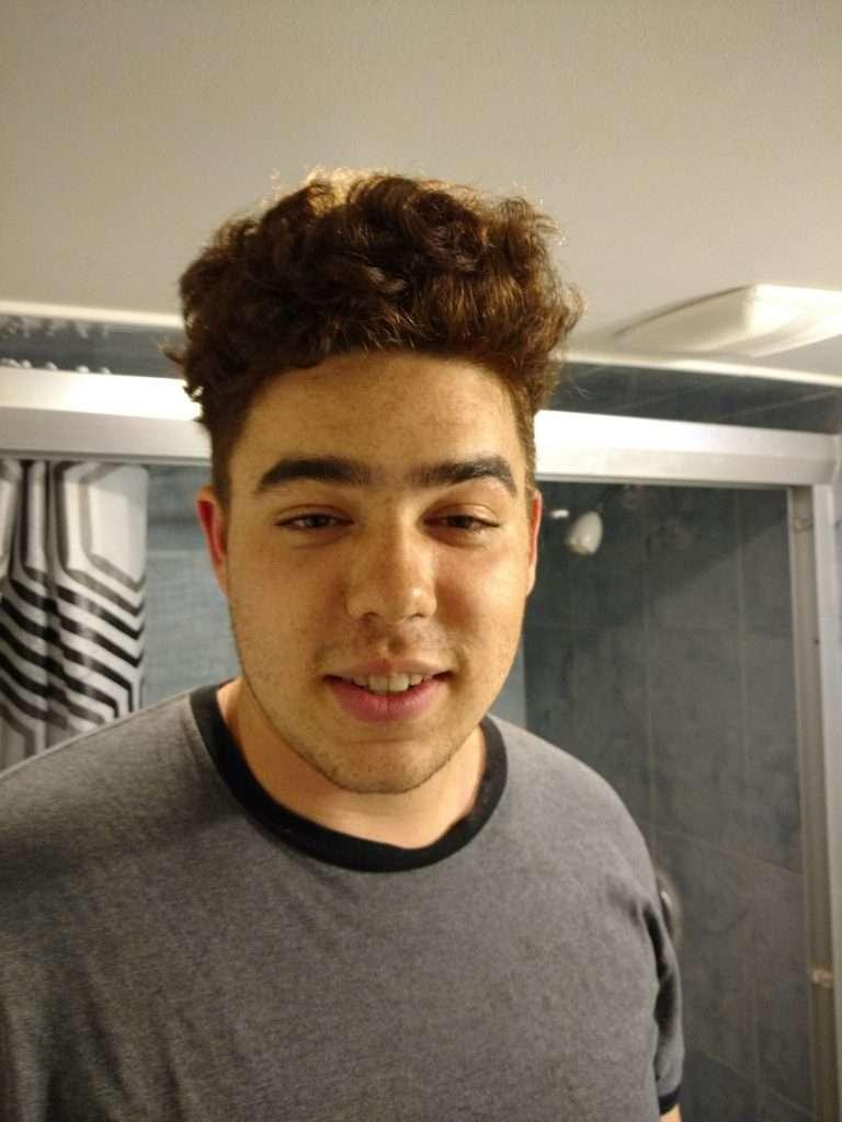 tims haircut