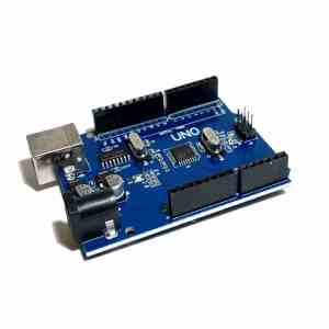 Arduino Uno with white background