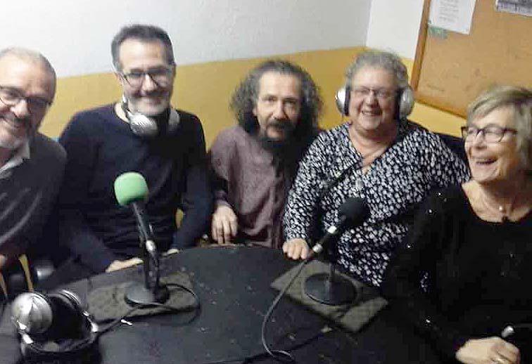 Manuel, Jose Maria Ballestin, Chesus Borrajo, Chus Sanjuan y Lola Orti (Charrada SCO-8)