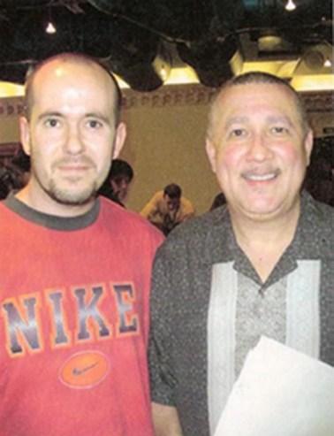 Wally con Paquito d'Rivera
