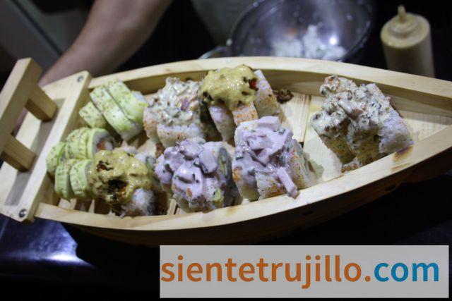 Sushi en Trujillo