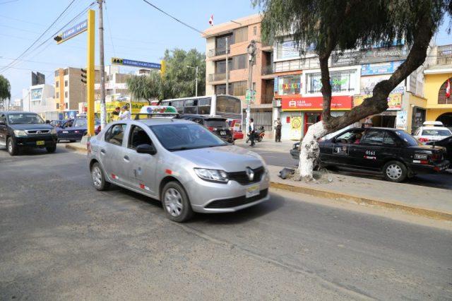 Parque automotor de Trujillo