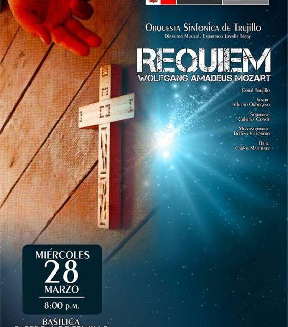 Requiem de Mozart se pondrá en escena por Semana Santa