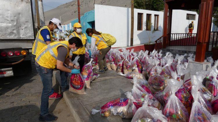 Puertos de Paita, Paracas y Salaverry