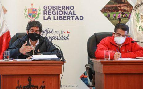 Obras en La Libertad MTC
