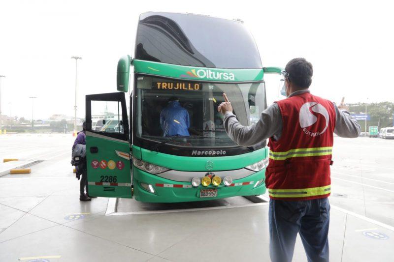 transporte terrestre interprovincial en Perú