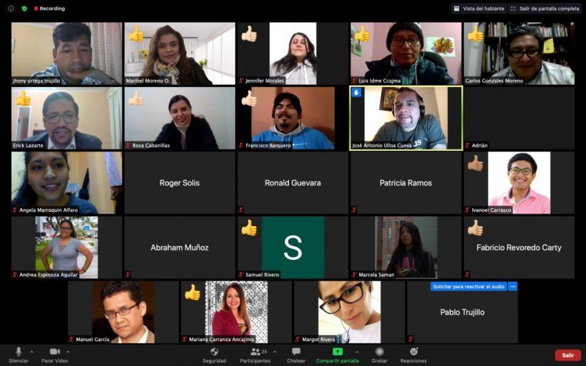 Asociación Peruana de Profesionales de la Comunicación Maribel Moreno Ojeda